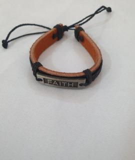 Faith Leather Bracelets