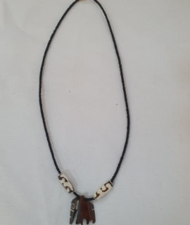 Hand Crafted Elephant African Necklace